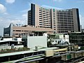 Fu Jen Hospital view from Taoyuan Metro Express Train 20180512.jpg