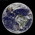 Full Disk Image of Earth Captured Feb. 7, 2011 (5426032016).jpg