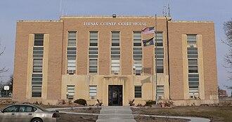 Beaver City, Nebraska - Furnas County courthouse