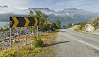 Fv882 road at Steinvikneset, Øksfjorden in Finnmark, Norway, 2014 August - 02.jpg
