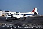 G-AOTI De Havilland Heron d Coventry 16-08-76 (36595209341).jpg