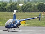 G-HIZZ Robinson R-22 Helicopter (27189429136).jpg