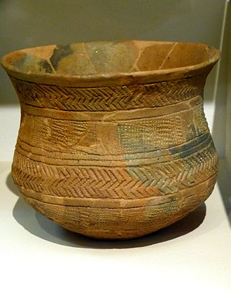 Beaker culture - An example of Beaker pottery from Straubing, Germany