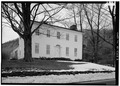 GENERAL VIEW FROM NORTHEAST. - Stainton House, 1735 Ellis Hollow Road, Ithaca, Tompkins County, NY HABS NY,55-ITH.V,1-3.tif