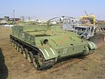 GMZ-1 tracked minelayer in Togliatti Technical museum - 4215.JPG