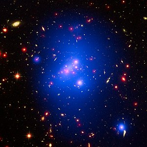 Galaxy cluster - Image: Galaxy cluster IDCS J1426