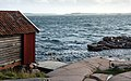 Gamlestan fishing hut and harbor at Vikarvet Museum 5.jpg