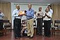 Ganga Singh Rautela Receives Retirement Gift From Sheikh Emdadul Islam - NCSM - Kolkata 2016-02-29 1699.JPG