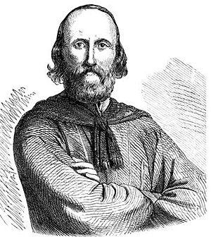 Giuseppe Garibaldi, the leader of the Italian ...