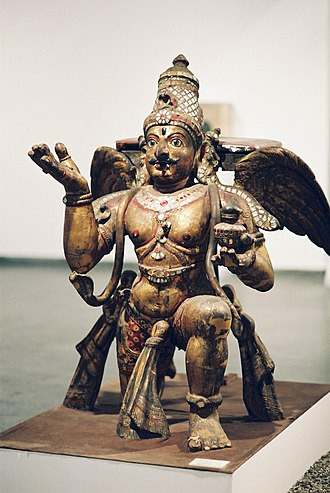 Vahana - Image: Garuda by Hyougushi in Delhi