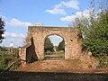 Gatehouse arch to Columb John mansion house, c.1590.jpg