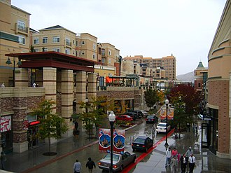 The Gateway (Salt Lake City) - Rio Grande Street (which goes directly through the mall)