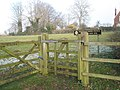 Gateway to public open space opposite All Saints, Catherington - geograph.org.uk - 1097345.jpg