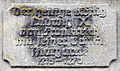 Gedenktafel Ludwigkirchplatz (Wilmd) Margarete von der Provence Ludwig IX (Frankreich).jpg