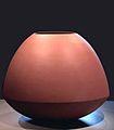 Geert Lap - Vaas in terra kleur met bolle buik, 1990-2000.jpg