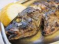 Gegrillter Fisch, Boukaris, Korfu 02.jpg