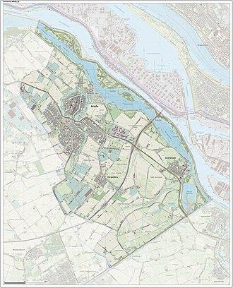 Brielle - Dutch Topographic map of Brielle, June 2015