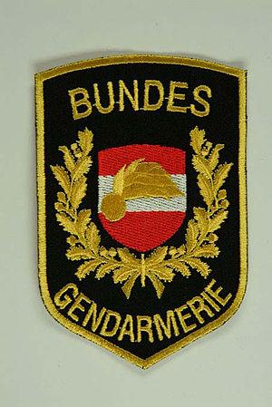 Gendarmerie (Austria) - Gendarmerie patch