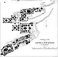 General Plan of Jain temples on Mount Shatrunjaya Palitana.jpg