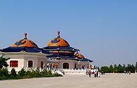 Genghis khan mausoleum.jpg