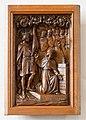 Genovevakerk, Breugel, paneel Genoveva met koning Clovis.jpg