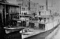 Geo W Shaver and Sarah Dixon (sternwheelers) 1897.jpg