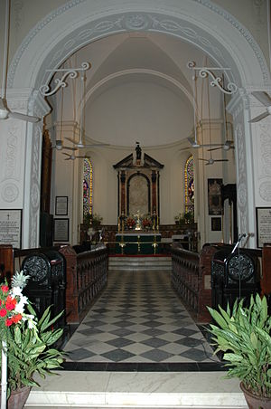 St. George's Cathedral, Chennai - Main altar