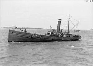 Naval drifter - A Great Yarmouth drifter George Albert during the war