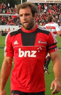 George Whitelock New Zealand rugby union player
