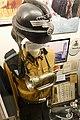 German Third Reich SA NSKK (Nationalsozialistische Kraftfahrkorps) Obertruppführer uniform, helmet (Sturzhelm), side cap, shoulderstrap, brownshirt, SA bugle, etc. Lofoten Krigsminnemuseum, Norway (War Memorial Museum) 2019-05-08 DSC0.jpg