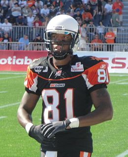 Geroy Simon CFL player
