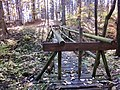 Gesperrte Brücke, Wanderweg bei Gefrees - panoramio (14).jpg