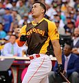 Giancarlo Stanton competes in semis of '16 T-Mobile -HRDerby. (28574676135).jpg