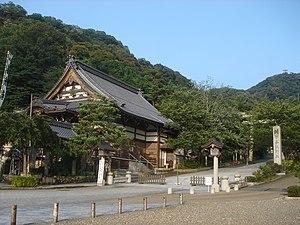 Zenkō-ji (Gifu) - Side view of Zenkō-ji