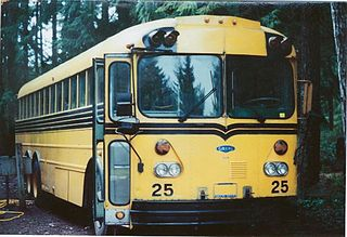 Gillig Transit Coach School Bus