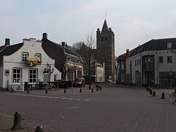 Square in Gilze