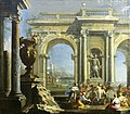 Giovanni Ghisolfi-Le triomphe de Silène.jpg