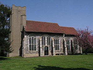 Gipping - Image: Gipping Chapel of St Nicholas