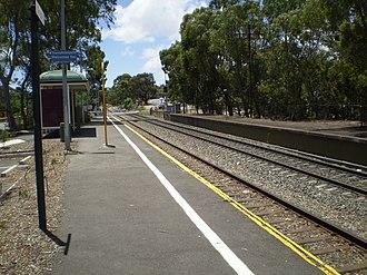 Belair railway line - Image: Glenalta Railway Station Adelaide