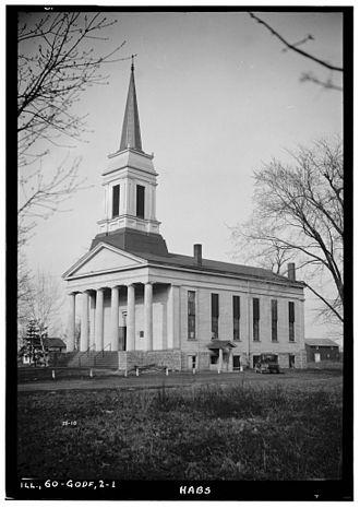 Benjamin Godfrey - Benjamin Godfrey Memorial Chapel