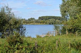 Wildlife Trust for Bedfordshire, Cambridgeshire and Northamptonshire - Image: Godmanchester Nature Reserve, Island Lake 1