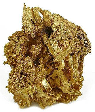 Summit County, Colorado - Gold specimen from the Breckenridge Mining District