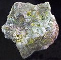 Gold and quartz (Bannack, Beaverhead County, Montana, USA) (16577147814).jpg