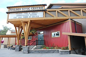 Golden, British Columbia - Image: Golden BC Civic Centre