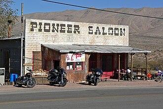 Goodsprings, Nevada - The Pioneer Saloon, built in 1913
