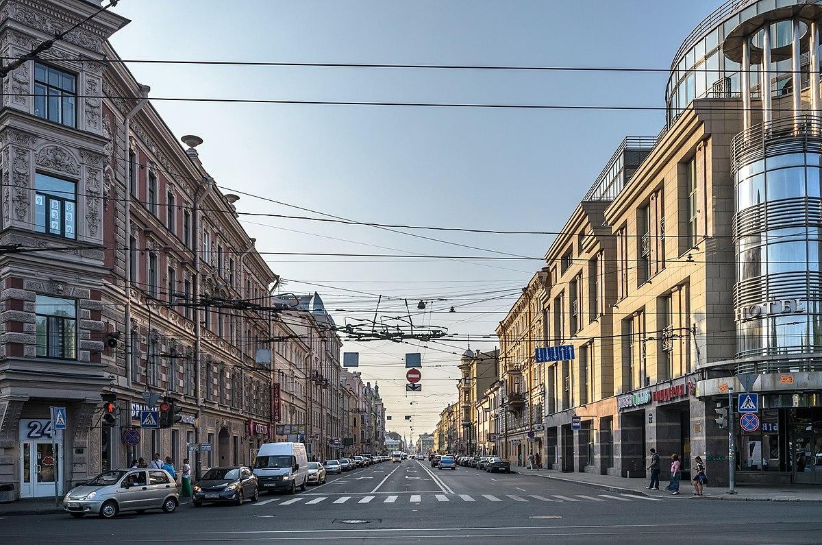 street wikipedia spb