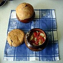 Мясо по-французски запекать при температуре
