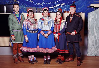 Keskitalo's Third Council - Image: Governing Council of the Sami Parliament of Norway 2017