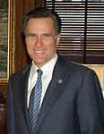 Governor Mitt Romney with Interior Secretary Gale Norton (cropped).jpg