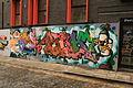 Graffiti in Shoreditch, London - The Rollin Peeps (13825357753).jpg
